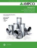 z - Cover Image: AMPCO Special Gas Vent Sales Catalog Model N
